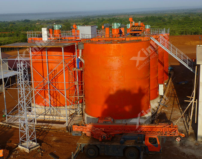 坦桑尼亚1200t/d金矿选矿项目