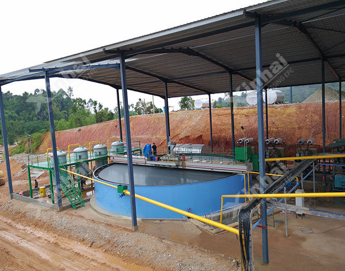 马来西亚700t/d金矿选矿项目